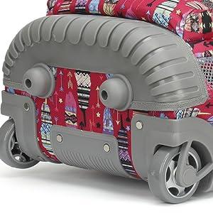 Two-Wheels Backpack