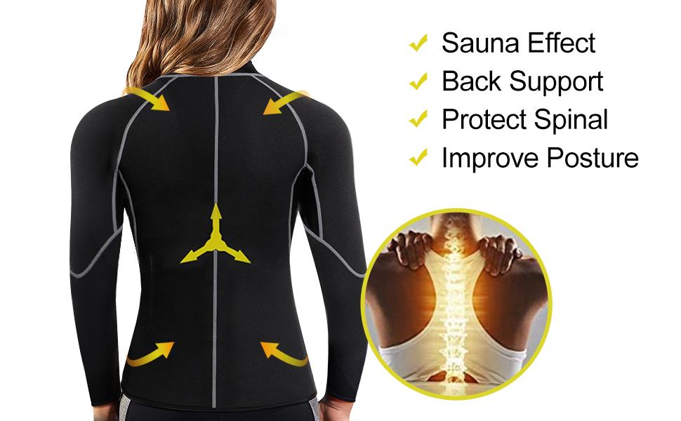 back support body shaper