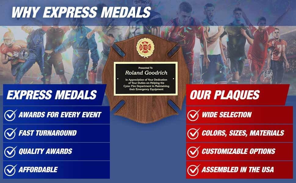 Customizable Trophy Awards from Express Medals and Awards