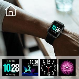 touch screen fitness tracker womens smart watch