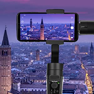 Timelapse with hohem isteady mobile plus phone gimbal stabilizer
