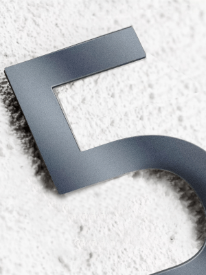 Hausnummer Edelstahl Anthrazit edelstahl hausnummer v2a v4a hausnunmmer aus edelstahl