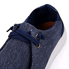 slip on with elastic lace