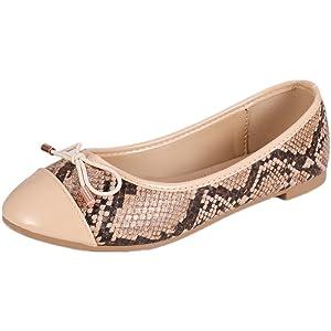 women ballet shoes python