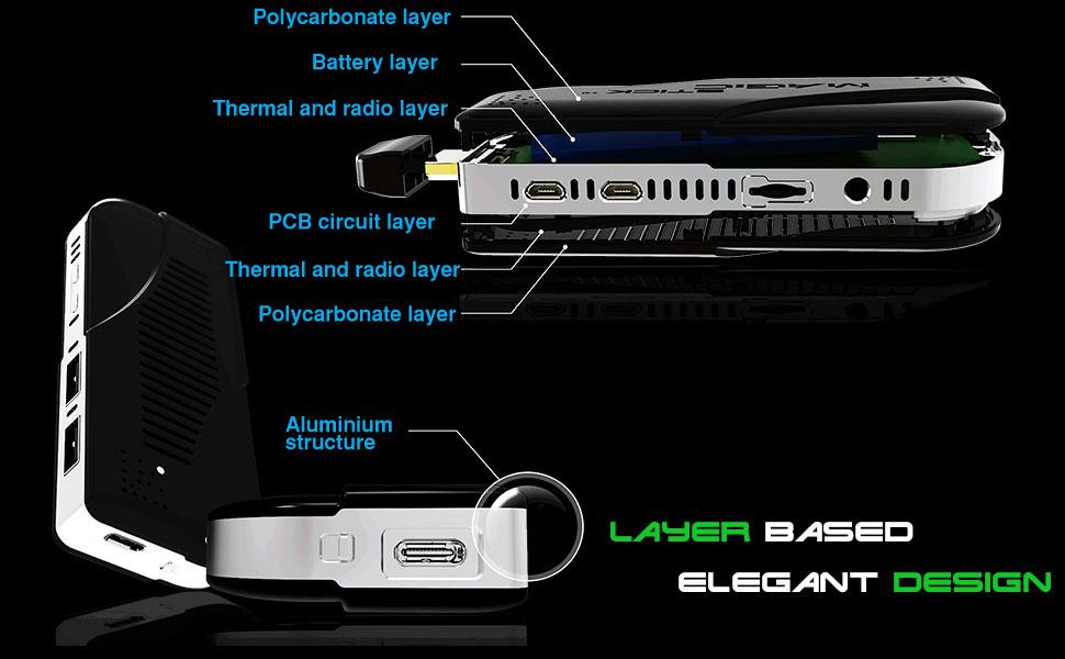 Magicstick Multiple layer design