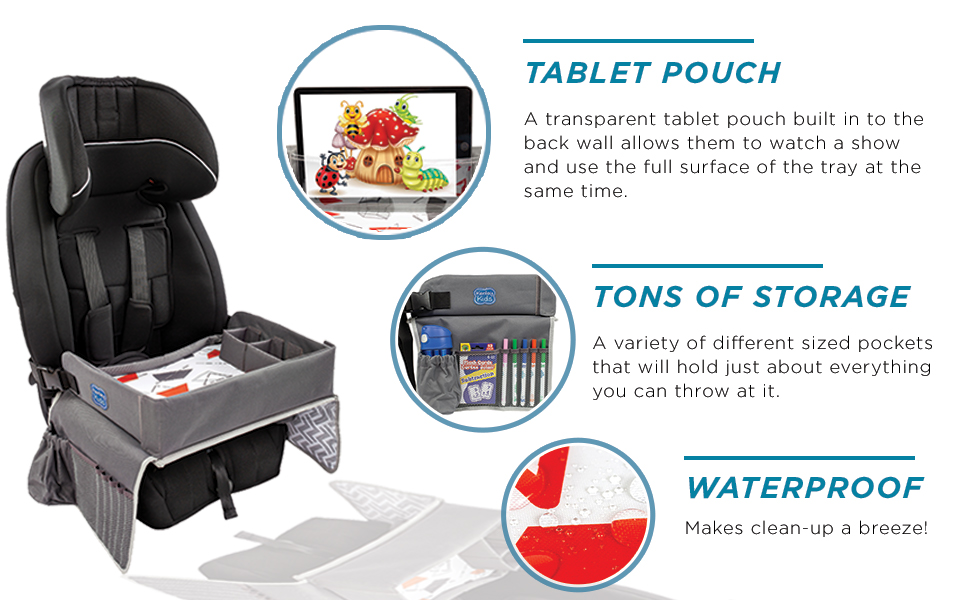 kids travel activity trays toddlers car road trip entertainment accessory