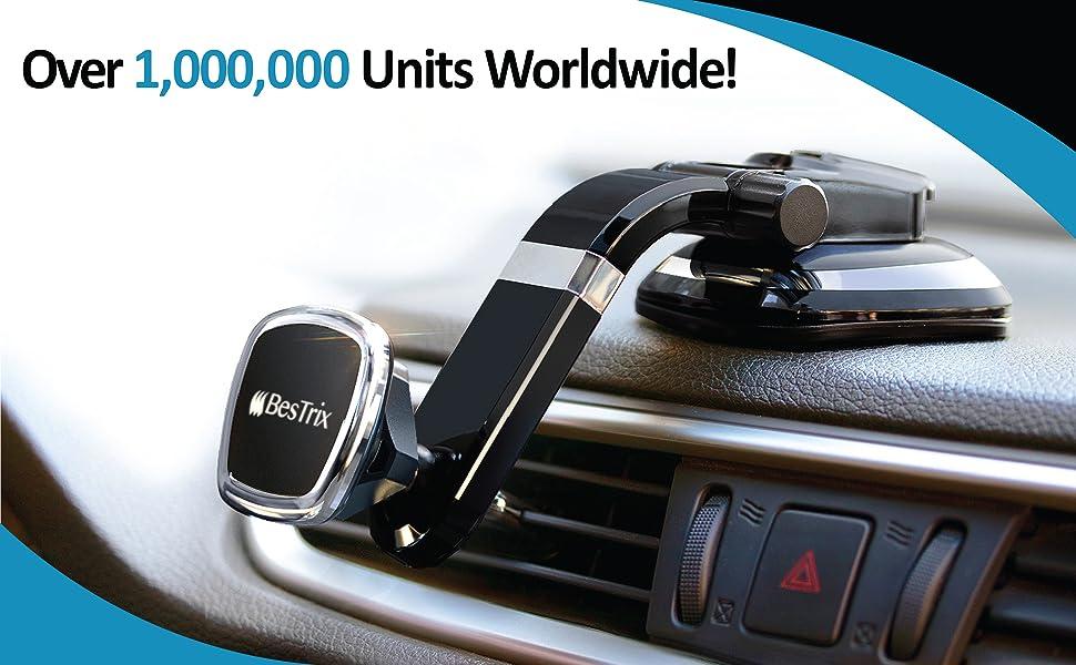 phone car holder magnetic dashboard