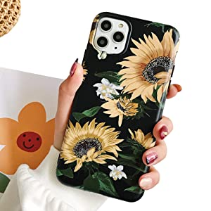 flower floral black fresh back protection silicon cases covers iphone mvyno