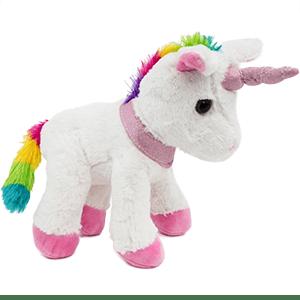 unicorn rainbow cuddly animal toy mythical creature brubaker fairy tale mythical creature
