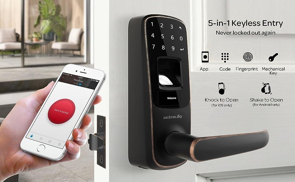 keyless entry door lock combination lock keypad lock