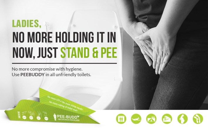 Female urination system