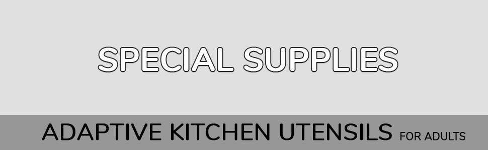 Black Adaptive Utensils by Special Supplies