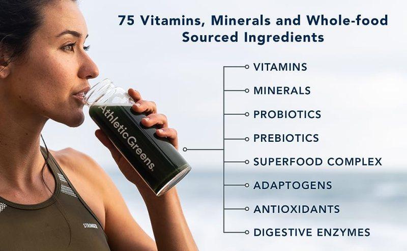 vitamins minerals probiotics prebiotics