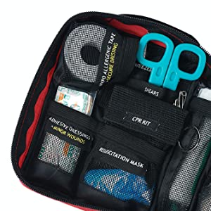 first aid kit for survival and travel