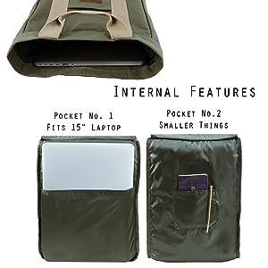 Green Internal Features