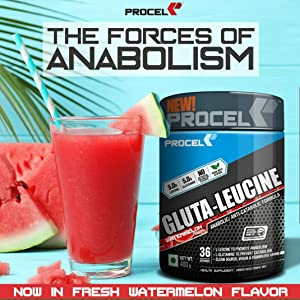 Glua Leucine Watermelon Flavor
