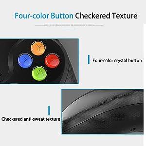 Checkered anti-sweat texture