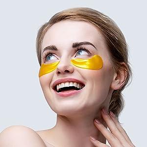 under eye patches, under eye mask, under eye pads, stop eye puffiness