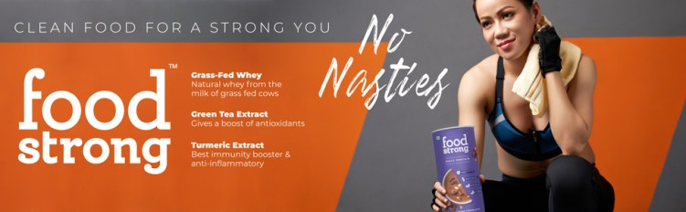 food strong, foodstrong, protein powder, whey protein, natural protein