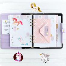 Unicorn scrapbook stickers for Girls Kids