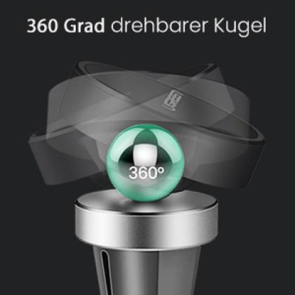 360 Grad drehbar