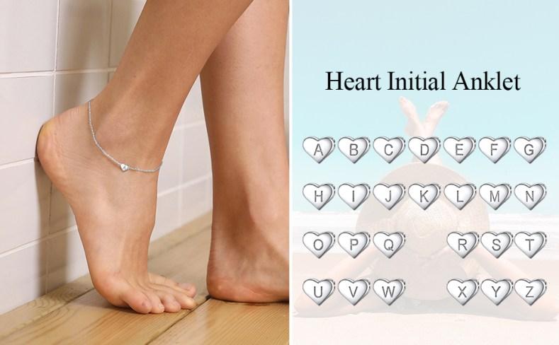 letters anklet