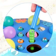 Angelspielzeug Holz Lernspielzeug Magnetspiel Clip Perlen Spiel Motor Skill Vorschule Lernspielzeug