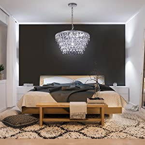crystal chandelier for bed room
