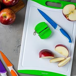 Knife for apples