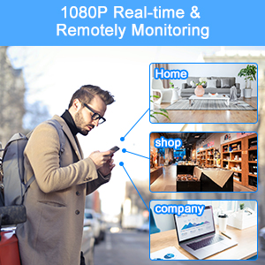 1080P Real-time & Remotely Monitoring
