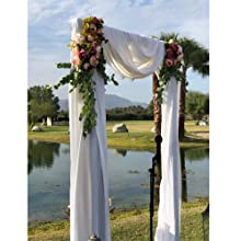 artificial peony flowers for wedding arch