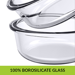 4da46ef7 a310 4d8d a47f aa3b183910d8.  CR0,0,300,300 PT0 SX300 V1    - Home Puff Borosilicate Glass Lunch Box H29 Microwavable, AirVent Lid, Premium Carry Bag (320 ML, Set of 4)