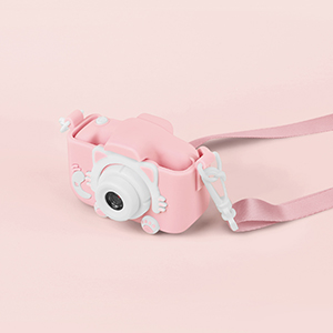 child camera pink
