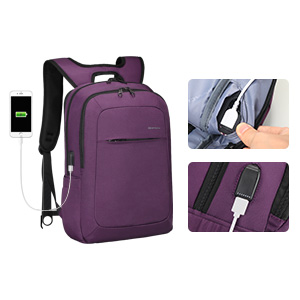 Laptop Backpack with Charger Port
