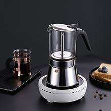 moka pot stovetop espresso maker cafetera stove top coffee maker cuban coffee maker