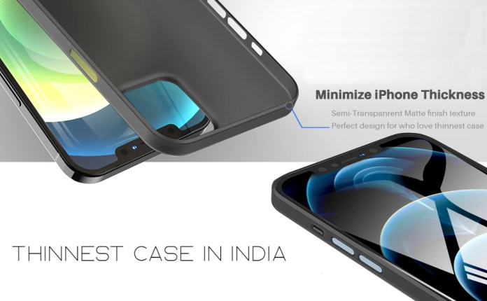 Thinnest case designed carefully to give u slimmest feel of iPhone