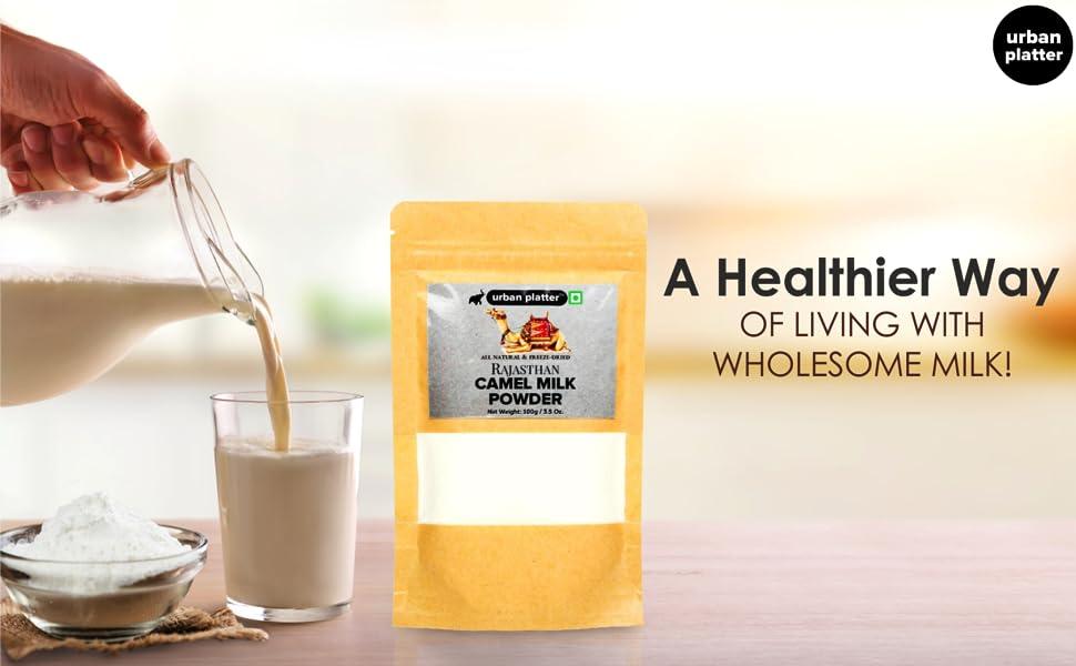Urban Platter Freeze-Dried Camel Milk Powder, 100g
