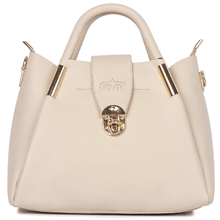White Color Ladies Handbag