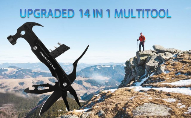 multitools survival tools camping accessories hammer gifts for dad men's gifts birthday gifts