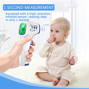 The NON-CONTACT THERMOMETER