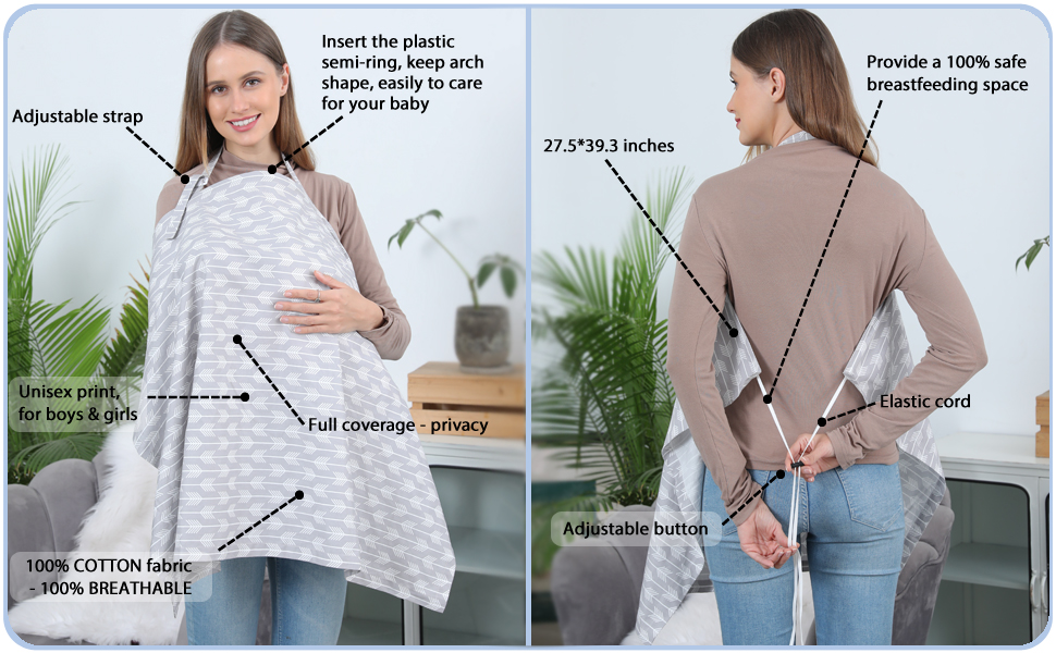 nursing apron breastfeeding cover