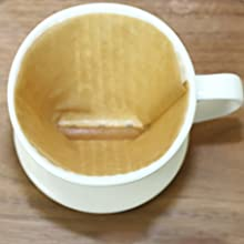 Coffee Filter Cup with 3 Holes at Flat Bottom