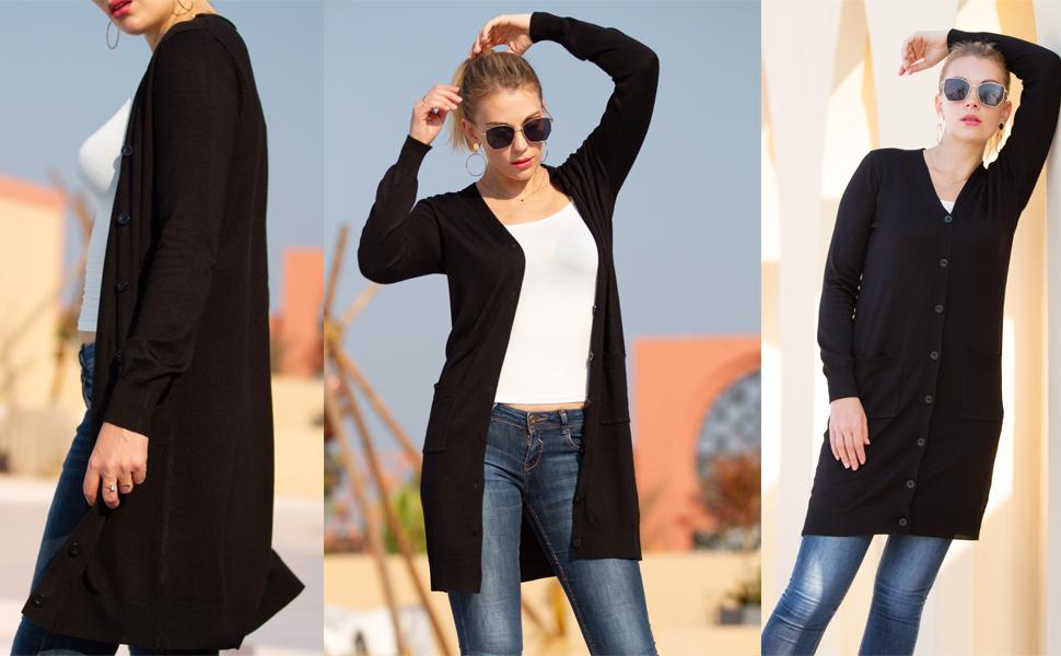 long cardigan for women