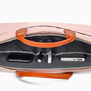 13.5-15 inch multi-pockets laptop bag