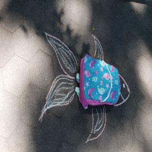 printed backpacks for kids for school class pack bulk unicorns sharks narwhals mermaids multi pocket