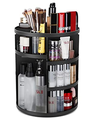 360°Rotating Makeup Organizer