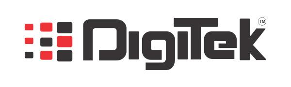 Digitek logo, Digitek Brand, envie and digitek, electronic brand digitek