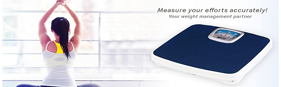 Mcp weighing scale weighing machine mechanical for human body weight personal bathroom weight scale