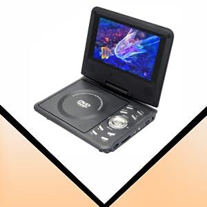 iBELL Portable PD8690 DVD Player with Inbuilt USB SD/MMC Dolby Digital Decoder Multiple OSD