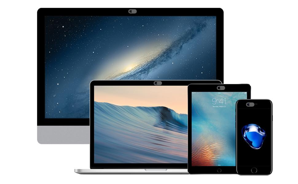 Privacy Webcam Cover Online Mac Macbook Macbook Pro iMac iPad Tablet Dell Hacker Spy Lenovo HP Asus